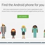 Google telefon seçiminize yardımcı olacak