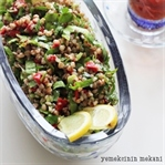 Karabuğday (Greçka) Salatası