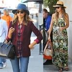Ünlü Stil: Jessica Alba'nın Renkli Stili