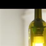 Boş Şarap Şişesinden Avize Yapmak