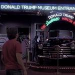 Donald Trump 'Geleceğe Dönüş'ün kötü adamı rolünde