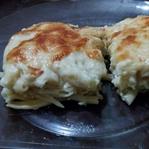 Fırında Beyaz Peynirli Makarna Tarifi