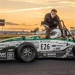 Hız rekoru kıran elektrikli araç