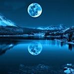 Mavi Ay Bu Gece Gözükecek