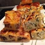 Peynirli Kıymalı Börek