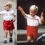 Prens George Babasının İzinde