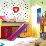 Renkli Bebek Odası Dekoru