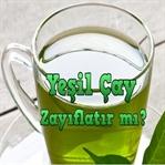 Yeşil Çay İle Zayıflamak Mümkün