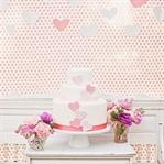 Aşk temalı düğün pastaları