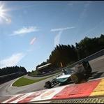 Belçika'da Mercedes Dublesi, Zafer Hamilton'un !!
