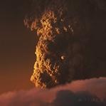 Calbuco Volkanı patlamasının timelapse videosu