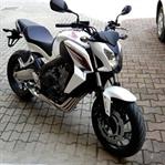 Karşınızda Beyaz Meleğim Honda CB650F