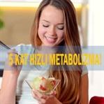 Metabolizmayı 5 Kat Hızlandıran Yiyecek