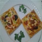 Milföylü Pizza Tarifi