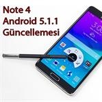 Note 4 Lollipop 5.1.1 Güncellemesini Aldı