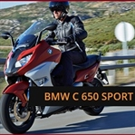 BMW C650 GT ve Sports Serisini yeniledi.