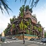 Hava ve ses kirliliğine karşı 'ağaç apartman'