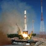 Soyuz uzay gemisi yolculuğuna başladı