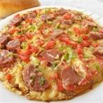 İspanyol Omleti ( Patatesli Pizza )