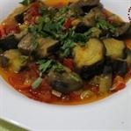 Tam Mevsimi : Zeytinyağlı Patlıcan Yemeği