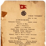 Titanic'in Son Menüsü Açık Arttırmada