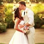 Birbirinden Romantik Düğün Fotoğrafları
