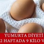 Yumurta Diyeti İle 2 Haftada 9 Kilo Verin