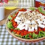 Beyaz Peynirli Marul Salatası Tarifi