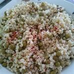Bezelyeli Kuskus Salatası