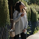DRYKORN OVERSIZED SWEATER, CHLOE BAG & SANDALS
