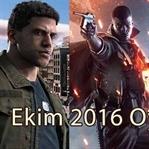 Ekim Ayı Çıkacak Oyunlar (2016)