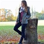Herbst Outfit: Khaki Parka