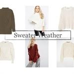 Herbsttrend kuschelige Pullover
