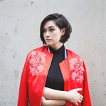 red bomber jacket for fall