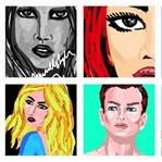 Snapchat ve Instagram'da Çizilen Resimler