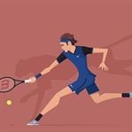 Tenis İllüstrasyonları