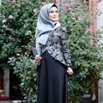 2017 Tesettür Abiye Elbise Modelleri