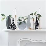 DIY Silhouetten Vasen aus Geschenkpapier