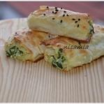 Ispanaklı Rulo Börek