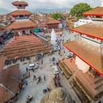 Nepal Depremi ve Sonrasında Katmandu