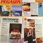 Pegasus Magazine'de Artık Üşengeç Şef Var