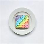 Rainbow Toast - Frühstück like a Einhorn!