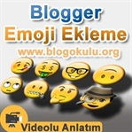 Blogger Emoji Ekleme