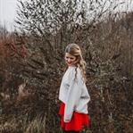 Fashion: Oversized Knit, red Volantskirt and my ne