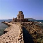 Methoni mit seiner imposanten Festungsanlage