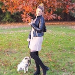 Outfit: Knitdress, Overknees and Indian Summer in