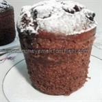 Damla Çikolatalı Fincan Kek