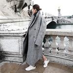 Trend: Oversized Manto & Spor Ayakkabı