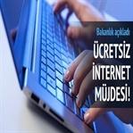 Ücretsiz İnternet Geliyor