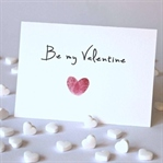 Valentinstag: Fingerprint - Herz
